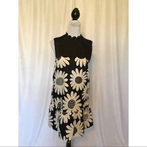 NWOT! Black and White Floral Dress
